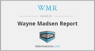 Wayne Madsen Reports